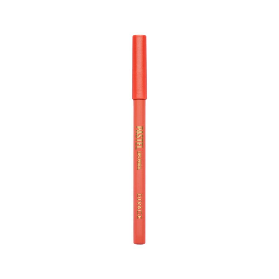 Divage Карандаш для губ Pastel (2207 розовый)Divage<br>Карандаш имеет удобную форму треугольника, благодаря которой не скатывается с плоской поверхности. Содержит смягчающие масла жожоба, соевых бобов, экстракт алоэ вера, витамины Е. Масло жожоба и соевых бобов придаёт контуру кондиционирующее и смягчающее свойства. Оно регулирует водно-липидный баланс, предохраняя кожу губ от сухости. Открой для себя сочетание глубокого цвета и деликатного ухода с карандашами PASTEL от DIVAGE!<br>Способ применения:<br>Секреты нанесения от DIVAGE помогут тебе создать яркие и четкие карандашные линии. При выполнении макияжа не бойся сочетать несколько цветов карандаша для глаз. Для верхнего века используй один цвет карандаша, а нижнее веко подводи контрастным оттенком. Не соединяй линию нижней и верхней подводки. Выводи верхнюю подводку вверх по направлению к виску - это визуально увеличит разрез глаз и придаст твоему взгляду игривости! Для придания макияжу большей естественности растушуй карандашную линию кистью или спонжем. Будь самой яркой с карандашами DIVAGE!<br>Состав:<br>Состав: Beeswax (Cera Alba), Carnauba wax, Ozokerite, Castor oil, Petrolatum, Phenoxyethanol, Sorbic Acid Может содержать: CI 77891, CI 77491, CI77492, CI 77499, CI 77510, CI 16035:1, CI 15850:1, CI 15850, CI 15850:2, CI 77742, CI 77019, CI 16185:1<br><br>Вес г: 35<br>Бренд : Divage<br>Тип карандаша : деревянный<br>Объем мл: 4<br>Страна производитель : Китай
