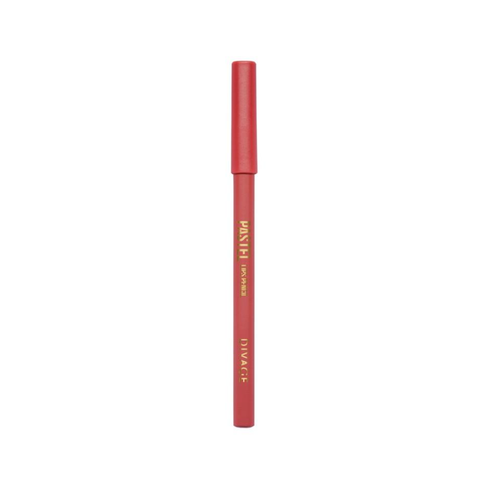 Divage Карандаш для губ Pastel (2208 красный)Divage<br>Карандаш имеет удобную форму треугольника, благодаря которой не скатывается с плоской поверхности. Содержит смягчающие масла жожоба, соевых бобов, экстракт алоэ вера, витамины Е. Масло жожоба и соевых бобов придаёт контуру кондиционирующее и смягчающее свойства. Оно регулирует водно-липидный баланс, предохраняя кожу губ от сухости. Открой для себя сочетание глубокого цвета и деликатного ухода с карандашами PASTEL от DIVAGE!<br>Способ применения:<br>Секреты нанесения от DIVAGE помогут тебе создать яркие и четкие карандашные линии. При выполнении макияжа не бойся сочетать несколько цветов карандаша для глаз. Для верхнего века используй один цвет карандаша, а нижнее веко подводи контрастным оттенком. Не соединяй линию нижней и верхней подводки. Выводи верхнюю подводку вверх по направлению к виску - это визуально увеличит разрез глаз и придаст твоему взгляду игривости! Для придания макияжу большей естественности растушуй карандашную линию кистью или спонжем. Будь самой яркой с карандашами DIVAGE!<br>Состав:<br>Состав: Beeswax (Cera Alba), Carnauba wax, Ozokerite, Castor oil, Petrolatum, Phenoxyethanol, Sorbic Acid Может содержать: CI 77891, CI 77491, CI77492, CI 77499, CI 77510, CI 16035:1, CI 15850:1, CI 15850, CI 15850:2, CI 77742, CI 77019, CI 16185:1<br><br>Вес г: 35<br>Бренд : Divage<br>Тип карандаша : деревянный<br>Объем мл: 4<br>Страна производитель : Китай