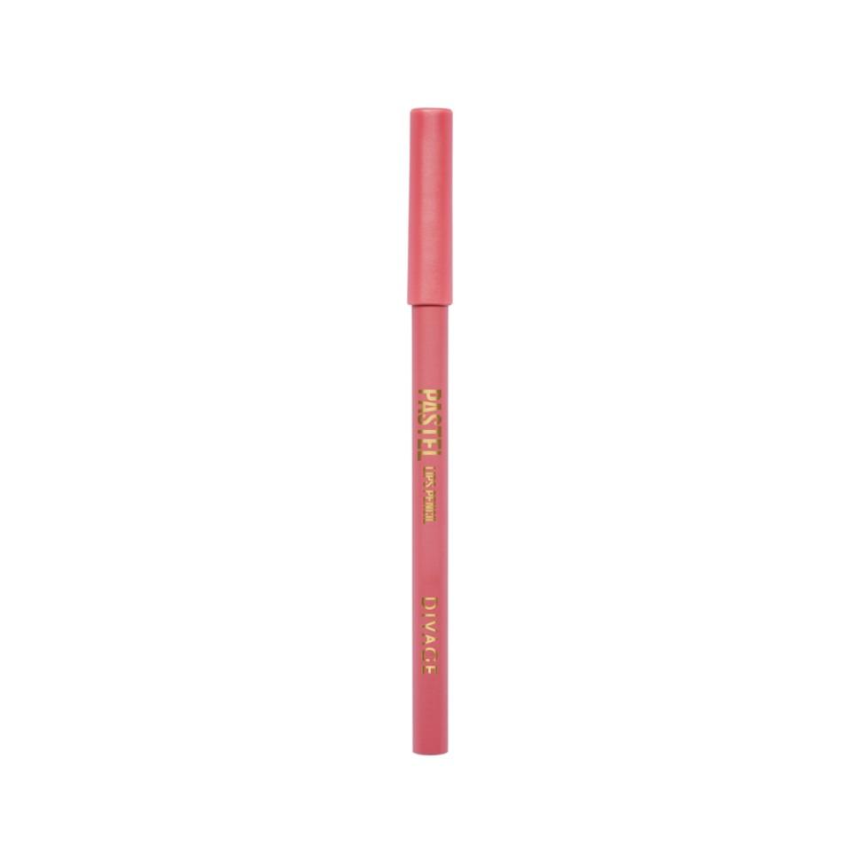 Divage Карандаш для губ Pastel (2201 розовый)Divage<br>Карандаш имеет удобную форму треугольника, благодаря которой не скатывается с плоской поверхности. Содержит смягчающие масла жожоба, соевых бобов, экстракт алоэ вера, витамины Е. Масло жожоба и соевых бобов придаёт контуру кондиционирующее и смягчающее свойства. Оно регулирует водно-липидный баланс, предохраняя кожу губ от сухости. Открой для себя сочетание глубокого цвета и деликатного ухода с карандашами PASTEL от DIVAGE!<br>Способ применения:<br>Секреты нанесения от DIVAGE помогут тебе создать яркие и четкие карандашные линии. При выполнении макияжа не бойся сочетать несколько цветов карандаша для глаз. Для верхнего века используй один цвет карандаша, а нижнее веко подводи контрастным оттенком. Не соединяй линию нижней и верхней подводки. Выводи верхнюю подводку вверх по направлению к виску - это визуально увеличит разрез глаз и придаст твоему взгляду игривости! Для придания макияжу большей естественности растушуй карандашную линию кистью или спонжем. Будь самой яркой с карандашами DIVAGE!<br>Состав:<br>Состав: Beeswax (Cera Alba), Carnauba wax, Ozokerite, Castor oil, Petrolatum, Phenoxyethanol, Sorbic Acid Может содержать: CI 77891, CI 77491, CI77492, CI 77499, CI 77510, CI 16035:1, CI 15850:1, CI 15850, CI 15850:2, CI 77742, CI 77019, CI 16185:1<br><br>Вес г: 35<br>Бренд : Divage<br>Тип карандаша : деревянный<br>Объем мл: 4<br>Страна производитель : Китай