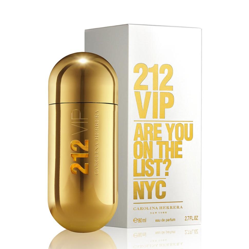 Carolina Herrera 212 VIP Парфюмерная вода 80 млCarolina Herrera<br>Аромат 212 VIP нашел свое вдохновение у молодых и творческих людей Нью-Йорка, которые пишут будущую историю мегаполиса, истинных VIP персон. Яркие эпатажные люди, которые любят и умеют хорошо проводить время. Основная идея аромата «А вы есть в списке?» – фраза, пришедшая из мира VIP, но не имеющая ничего общего с деньгами или известностью. Быть в списке - значит обладать особой жизненной позицией и неординарными личностными характеристиками. 212 VIP веселый, праздничный, цветочный аромат, который сочетает в себе стиль и отношение к жизни, покоряя тремя своими основными гранями. Ноты пьянящего рома и экзотической маракуй воплощают с собой аккорд вечеринки. Взрывной коктейль, которым можно наслаждаться в любое время! Светский аккорд - отличительная черта нового поколения 212 VIP. Он передается нотами всепоглощающего мускуса и изысканной гардении. Аура исключительности. Наконец, стильный аккорд заключен в ингредиентах, придающих аромату обворожительный шарм: восхитительная ультра-женствен<br>Особенности состава:<br>Ром и Маракуйя - вот правильный рецепт крутой вечеринки<br>Мнение эксперта:<br>Аромат как интрига. Погружают в водоворот ночной жизни с приставкой VIP<br>Состав:<br>ALCOHOL DENAT., PARFUM (FRAGRANCE), AQUA (WATER), LIMONENE, LINALOOL, COUMARIN, GERANIOL, HYDROXYISOHEXYL 3-CYCLOHEXENE CARBOXALDEHYDE, BUTYLPHENYL METHYLPROPIONAL, CITRAT, BENZYL ALCOHOL, ALPHA-ISOMETHYL IONONE ALCOHOL OF VEGETAL ORIGIN<br><br>Вес г: 421<br>Бренд : Carolina Herrera<br>Объем мл: 80<br>Возраст : 14+<br>Страна производитель : Испания<br>Вид Аромата : Гурманский восточный<br>Шлейф : Бензоин, ваниль<br>Верхняя Нота : Горький апельсин, маракуйя<br>Верхняя Нота : Горький апельсин, маракуйя