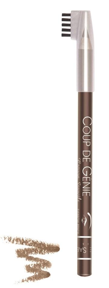 Vivienne Sabo карандаш для бровей с щеточкой Coup de genie (001 коричневый)Vivienne Sabo<br>Карандаш для бровей с щеточкой Vivienne Sabo корректируют форму и цвет брови. Обеспечивают эффект естественных натуральных бровей, выразительных и ухоженных. Витамины и натуральные растительные экстракты оказывают успокаивающее, противовоспалительное действие  Свойства:  - Ухоженные брови — основа профессионального макияжа  - Натуральные оттенки позволяют сделать естественную бровь красивой формы  - Маленькая расческа уложит волоски в нужном направлении  - Универсальные оттенки для выразительных ухоженных бровей  Советы по применению:  Для графичного эффекта, очертите карандашом границы бровей, затем закрасьте внутреннюю часть, расчешите щёточкой. Для более натурального эффекта, наносите карандаш штрихами, имитируя волоски, затем расчешите щёточкой<br><br>Вес г: 15<br>Бренд : Vivienne Sabo<br>Цвет : 001 коричневый<br>Тип средства для бровей : карнадаш с щеточкой<br>Страна производитель : Франция
