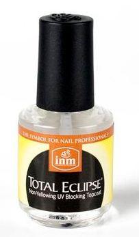INM Покрытие для французкого маникюра с эффектом свеченияINM<br>Описание товара:Покрытие Total Eclipse представляет собой лак, защищающий ногти от пожелтения в результате воздействия ультрафиолета и одновременно это средство сохраняет естественный вид ногтевого ложа и белизну отросшего ногтя. Идеальное покрытие для французского маникюра! Светится в UV.<br><br>Вес г: 40<br>Бренд : INM<br>Объем мл: 15<br>Страна производитель : США<br>Тип средства для ногтей : верхнее покрытие