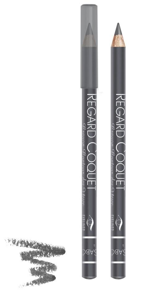 Vivienne Sabo карандаш для век Regard Coquet (302 серый)Vivienne Sabo<br>Мягкая, скользящая текстура прекрасно растушевывается. Матовая текстура карандаша для глаз Vivienne Sabo создает глубокий цвет. Деревянный корпус  Свойства:  - Карандаш легко и мягко наносится на кожу век  - Дает насыщенный и ровный цвет  - Классический вариант ежедневного макияжа  - Мягкий уход  - Линия карандаша легко корректируется  Совет по применению:  Нанесите острозаточеный карандаш на верхнее и/или нижнее веко. Играйте на контрастах, используйте два или более оттенков карандашей для создания ярких акцентов<br><br>Вес г: 15<br>Бренд : Vivienne Sabo<br>Тип карандаша : деревянный<br>Страна производитель : Франция