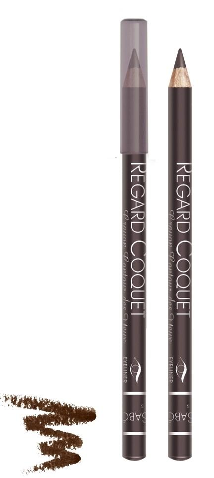 Vivienne Sabo карандаш для век Regard Coquet (303 коричневый)Vivienne Sabo<br>Мягкая, скользящая текстура прекрасно растушевывается. Матовая текстура карандаша для глаз Vivienne Sabo создает глубокий цвет. Деревянный корпус  Свойства:  - Карандаш легко и мягко наносится на кожу век  - Дает насыщенный и ровный цвет  - Классический вариант ежедневного макияжа  - Мягкий уход  - Линия карандаша легко корректируется  Совет по применению:  Нанесите острозаточеный карандаш на верхнее и/или нижнее веко. Играйте на контрастах, используйте два или более оттенков карандашей для создания ярких акцентов<br><br>Вес г: 15<br>Бренд : Vivienne Sabo<br>Тип карандаша : деревянный<br>Страна производитель : Франция