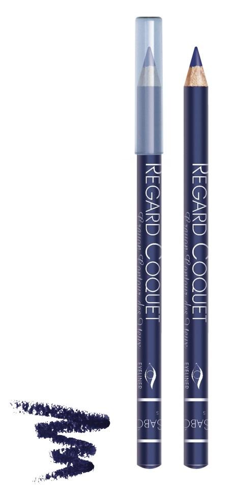 Vivienne Sabo карандаш для век Regard Coquet (304 синий)Vivienne Sabo<br>Мягкая, скользящая текстура прекрасно растушевывается. Матовая текстура карандаша для глаз Vivienne Sabo создает глубокий цвет. Деревянный корпус  Свойства:  - Карандаш легко и мягко наносится на кожу век  - Дает насыщенный и ровный цвет  - Классический вариант ежедневного макияжа  - Мягкий уход  - Линия карандаша легко корректируется  Совет по применению:  Нанесите острозаточеный карандаш на верхнее и/или нижнее веко. Играйте на контрастах, используйте два или более оттенков карандашей для создания ярких акцентов<br><br>Вес г: 15<br>Бренд : Vivienne Sabo<br>Тип карандаша : деревянный<br>Страна производитель : Франция