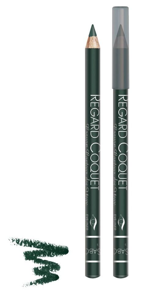 Vivienne Sabo карандаш для век Regard Coquet (307 темно-зеленый)Vivienne Sabo<br>Мягкая, скользящая текстура прекрасно растушевывается. Матовая текстура карандаша для глаз Vivienne Sabo создает глубокий цвет. Деревянный корпус  Свойства:  - Карандаш легко и мягко наносится на кожу век  - Дает насыщенный и ровный цвет  - Классический вариант ежедневного макияжа  - Мягкий уход  - Линия карандаша легко корректируется  Совет по применению:  Нанесите острозаточеный карандаш на верхнее и/или нижнее веко. Играйте на контрастах, используйте два или более оттенков карандашей для создания ярких акцентов<br><br>Вес г: 15<br>Бренд : Vivienne Sabo<br>Тип карандаша : деревянный<br>Страна производитель : Франция