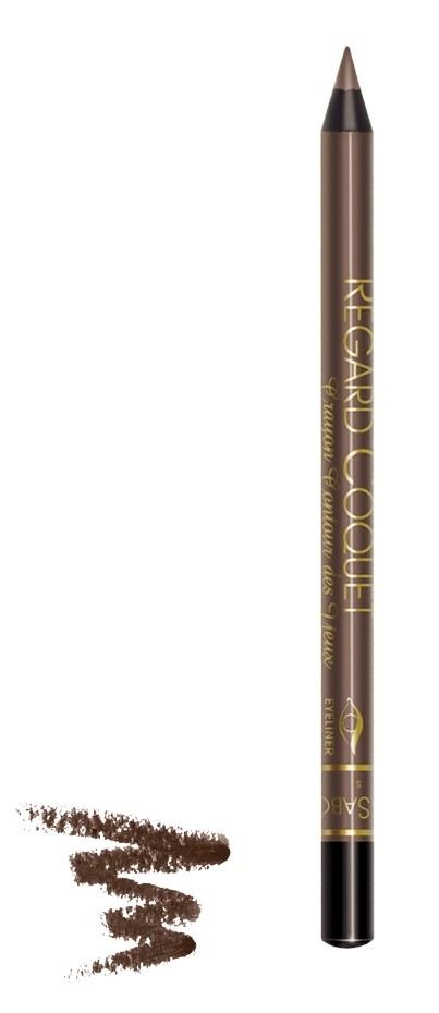 Vivienne Sabo карандаш для глаз устойчивый Regard Coquet (403 коричневый)Vivienne Sabo<br>Суперстойкая матовая текстура, фиксируется через минуту. В составе устойчивых карандашей для глаз питательные масла и витамины.  Свойства:  - Стойкий макияж на весь день при любой погоде  - Линия фиксируется через минуту  - Можно нарисовать четкую линию или растушевать  - При растушевке карандаш превращается в устойчивые тени   - Экспресс макияж  - Мягкий уход за кожей век  Советы по применению:  Играйте на контрастах, используйте два или более оттенков карандашей для создания ярких акцентов<br><br>Вес г: 15<br>Бренд: Vivienne Sabo<br>Тип карандаша: водостойкий<br>Страна производитель: Франция