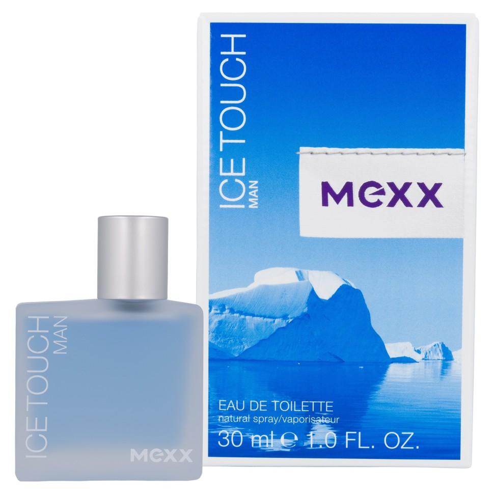Mexx Ice Touch Man Туалетная вода 30 млMexx<br>Руководство по выбору:<br>Дневной и вечерний аромат<br>Описание:<br>Mexx Ice Touch Man (2014) – освежающий, древесно-водный мужской аромат от нишевого бренда Mexx. Это фланкер парфюма 2005 года и, так же как и оригинальный аромат, входит в ароматический дуэт под названием Прикосновение льда. Яркий, чистый и хрустально-прозрачный парфюм дарит ощущение прикосновения кусочка льда к разгоряченной на солнце коже и является великолепным летним ароматом, идеально подходящим для беззаботного отдыха. Начинается композиция освежающими нотами нежного солнечного мандарина и чуть терпковатого аромата розового грейпфрута, звучащих в одном аккорде с прохладными нотами сочного зеленого яблока. В сердце парфюма плещется удивительно красивый водный аккорд, служащий фоном для терпковатого аромата жасмина и сливочно-хвойного запаха элегантного могучего кедра. База аромата звучит бархатистым сандалом, дымно-пряными бобами тонка, теплыми аккордами листьев пачули и нежнейшей амброй.<br>Особенности состава:<br>Освежающее сочетание розового грейпфрута и водного аккорда<br>Мнение эксперта:<br>Свежий интенсивный аромат, который бодрит и заряжает энергией<br>Состав:<br>Alcohol Denat. . Aqua(Water) . Parfum(Fragrance) . Ethylhexyl Methoxycinnamate . Butyl Methoxydibenzoylmethane . Ethylhexyl Salicylate . Limonene . Butylphenyl Methylpropional . Linalool . Citral . Citronellol . Coumarin . Geraniol . Ci 60730(Ext. Violet 2) . Ci 42090(Blue 1) . Ci 14700(Red 4) . Ci 19140(Yellow 5) .<br><br>Вес г: 130<br>Бренд : Mexx<br>Объем мл: 30<br>Возраст : 14+<br>Страна производитель : Германия<br>Вид Аромата : Акватические, Древесные<br>Шлейф : Амбра, Бобы Тонка, Пачули, Сандал<br>Верхняя Нота : Грейпфрут, Мандарин, Зеленое яблоко<br>Верхняя Нота : Грейпфрут, Мандарин, Зеленое яблоко