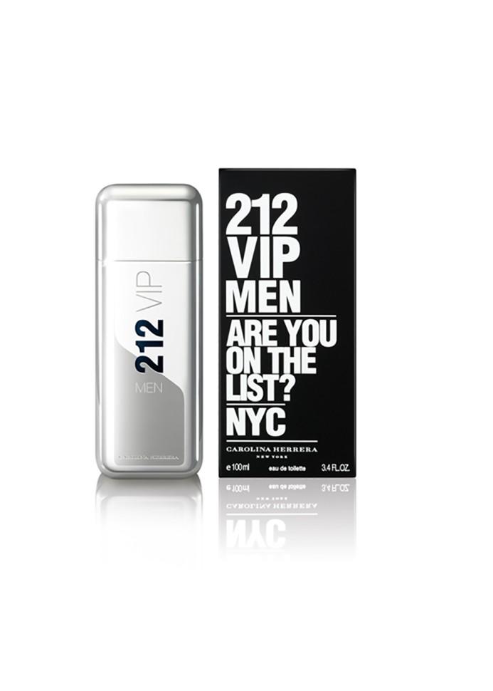 Carolina Herrera 212 Vip Men Туалетная вода 100 млCarolina Herrera<br>Мужчина по версии 212 VIP – харизматичный, веселый, стильный, желанный. Он - объект для подражания. Аромат 212 VIP MEN – взрывной коктейль из холодной водки и мяты, пальчикового лайма и будоражущих специй, вдохновленный самыми жаркими вечеринками. Лаймовая Икра придает аромату фруктовый оттенок и делает его более элегантным. Изысканный VIP-фрукт для истинных Королей вечеринок. Охлажденная Водка с добавлением замороженной мяты заряжает на всю ночь. Королевское Дерево, Пикантная Амбра и Бобы Тонка придают аромату неподражаемый почерк, делая его чувственным, но мужественным.<br>Особенности состава:<br>Лаймовая икра и аромат водки - костель успешных и привилегированных<br>Мнение эксперта:<br>Аромат для тех, кто входит в элиту VIP<br>Состав:<br>ALCOHOL DENAT., PARFUM (FRAGRANCE), AQUA (WATER), LIMONENE, LINALOOL, COUMARIN, GERANIOL, HYDROXYISOHEXYL 3-CYCLOHEXENE CARBOXALDEHYDE, BUTYLPHENYL METHYLPROPIONAL, CITRAT, BENZYL ALCOHOL, ALPHA-ISOMETHYL IONONE ALCOHOL OF VEGETAL ORIGIN<br><br>Вес г: 475<br>Бренд : Carolina Herrera<br>Объем мл: 100<br>Возраст : 14+<br>Страна производитель : Испания<br>Вид Аромата : Древесный восточный<br>Шлейф : Королевское дерево, амбровая мускусная нота<br>Верхняя Нота : Лаймовая икра, замороженная мята<br>Верхняя Нота : Лаймовая икра, замороженная мята