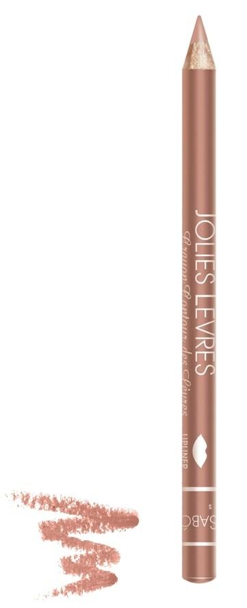 Vivienne Sabo карандаш для губ Jolies levres (102 бежевый)Vivienne Sabo<br>Правильный классический карандаш для губ Vivienne Sabo : мягко очерчивает их контур, не растекается, подходит к любой помаде или блеску — да и сам по себе хорош. Даже не обладая навыками, можно создать безупречно ровную линию одним движением  Свойства:  - Классический карандаш для губ  - Макияж губ при использовании карандаша выглядит профессионально и дольше держится  - Корректирует форму губ, предотвращает растекание помады или блеска   - Незаменимое средство в возрастном макияже  Советы по применению:  Очертите контур губ и растушуйте линию внутрь для мягкого соединения цвета карандаша с цветом помады или блеска. При выборе карандаша Jolies Levres для блеска, ориентируйтесь на цвет губ, для помады — на цвет помады<br><br>Вес г: 15<br>Бренд: Vivienne Sabo<br>Страна производитель: Франция