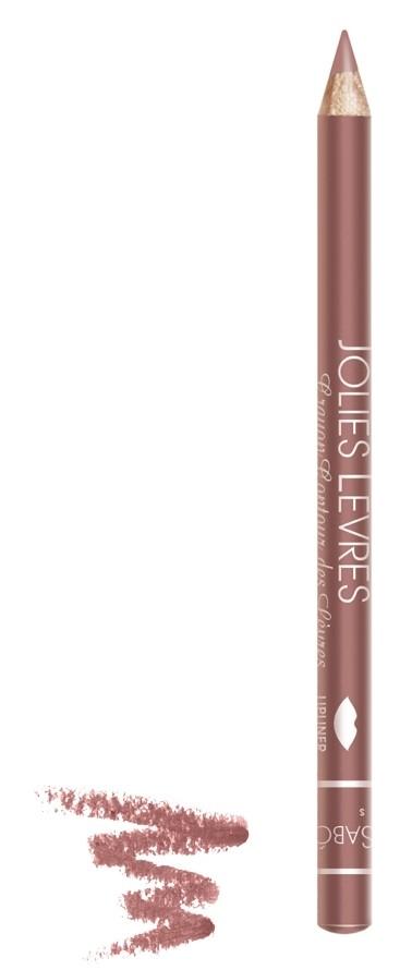Vivienne Sabo карандаш для губ Jolies levres (104 коричневый)Vivienne Sabo<br>Правильный классический карандаш для губ Vivienne Sabo : мягко очерчивает их контур, не растекается, подходит к любой помаде или блеску — да и сам по себе хорош. Даже не обладая навыками, можно создать безупречно ровную линию одним движением  Свойства:  - Классический карандаш для губ  - Макияж губ при использовании карандаша выглядит профессионально и дольше держится  - Корректирует форму губ, предотвращает растекание помады или блеска   - Незаменимое средство в возрастном макияже  Советы по применению:  Очертите контур губ и растушуйте линию внутрь для мягкого соединения цвета карандаша с цветом помады или блеска. При выборе карандаша Jolies Levres для блеска, ориентируйтесь на цвет губ, для помады — на цвет помады<br><br>Вес г: 15<br>Бренд : Vivienne Sabo<br>Цвет карандаша : 104 коричневый<br>Страна производитель : Франция