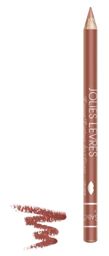 Vivienne Sabo карандаш для губ Jolies levres (103 св. сливовый)Правильный классический карандаш для губ Vivienne Sabo : мягко очерчивает их контур, не растекается, подходит к любой помаде или блеску — да и сам по себе хорош. Даже не обладая навыками, можно создать безупречно ровную линию одним движением  Свойства:  - Классический карандаш для губ  - Макияж губ при использовании карандаша выглядит профессионально и дольше держится  - Корректирует форму губ, предотвращает растекание помады или блеска   - Незаменимое средство в возрастном макияже  Советы по применению:  Очертите контур губ и растушуйте линию внутрь для мягкого соединения цвета карандаша с цветом помады или блеска. При выборе карандаша Jolies Levres для блеска, ориентируйтесь на цвет губ, для помады — на цвет помады<br><br>Бренд : Vivienne Sabo<br>Цвет карандаша : 103 св. сливовый<br>Страна производитель : Франция