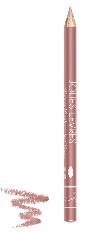 Vivienne Sabo карандаш для губ Jolies levres (108 нежно-розовый)Правильный классический карандаш для губ Vivienne Sabo : мягко очерчивает их контур, не растекается, подходит к любой помаде или блеску — да и сам по себе хорош. Даже не обладая навыками, можно создать безупречно ровную линию одним движением  Свойства:  - Классический карандаш для губ  - Макияж губ при использовании карандаша выглядит профессионально и дольше держится  - Корректирует форму губ, предотвращает растекание помады или блеска   - Незаменимое средство в возрастном макияже  Советы по применению:  Очертите контур губ и растушуйте линию внутрь для мягкого соединения цвета карандаша с цветом помады или блеска. При выборе карандаша Jolies Levres для блеска, ориентируйтесь на цвет губ, для помады — на цвет помады<br><br>Бренд : Vivienne Sabo<br>Цвет карандаша : 108 нежно-розовый<br>Страна производитель : Франция