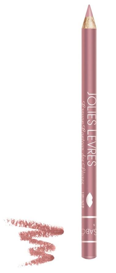 Vivienne Sabo карандаш для губ Jolies levres (204 персиковый)Vivienne Sabo<br>Правильный классический карандаш для губ Vivienne Sabo : мягко очерчивает их контур, не растекается, подходит к любой помаде или блеску — да и сам по себе хорош. Даже не обладая навыками, можно создать безупречно ровную линию одним движением  Свойства:  - Классический карандаш для губ  - Макияж губ при использовании карандаша выглядит профессионально и дольше держится  - Корректирует форму губ, предотвращает растекание помады или блеска   - Незаменимое средство в возрастном макияже  Советы по применению:  Очертите контур губ и растушуйте линию внутрь для мягкого соединения цвета карандаша с цветом помады или блеска. При выборе карандаша Jolies Levres для блеска, ориентируйтесь на цвет губ, для помады — на цвет помады<br><br>Вес г: 15<br>Бренд : Vivienne Sabo<br>Страна производитель : Франция