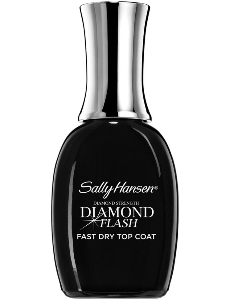 Sally Hansen Nailcare Покрытие верхнее быстросохнущее diamond flash fast dry top coatSally Hansen<br>Способ применения:<br>Наносить один слой на свежевысохший лак или на высохший лак для экстра сияния и дополнительной защиты маникюра. Дайте просохнуть в течение 60 сек.<br>Описание:<br>Более крепкие, сияющие ногти и стойкий маникюр! Быстросохнущее верхнее покрытие придает маникюру сияние и долговременную защиту всего за 60 секунд.<br>Состав:<br>Микровключения алмазов, платиновый и алюминиевый комплекс.<br><br>Вес г: 93<br>Бренд : Sally Hansen<br>Объем мл: 14<br>Страна производитель : СОЕДИНЕННЫЕ ШТАТЫ АМЕРИКИ<br>Тип средства для ногтей : верхнее покрытие, сушка для лака