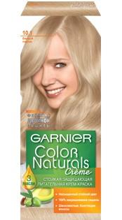 Garnier Краска для волос Color Naturals (10.1 Белый песок)Краска для волос<br>Глубокое питание, насыщенный цвет, стойкость более 8 недельСпециальная формула краски для волос Garnier Color Naturals, обогащенная 3 маслами, проникает в самое сердце волоса и интенсивно питает его. Благодаря глубокому питанию волосы лучше насыщаются цветом и сохраняют его надолго. Крем-краска Гарньер Колор Нэчралс имеет кремообразную текстуру, которая легко наносится, не течет и имеет приятный аромат.<br>Результат: <br>Стойкость более 8-ми недель<br>Глубокое питание волос<br>100% закрашивание седины<br><br>Вес г: 150<br>Бренд: Garnier<br>Вид краски для волос: стойкая краска<br>Оттенок краски для волос: 10.1 Белый песок