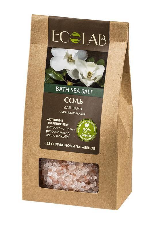 Ecolab Соль для ванны ОмолаживающаяДля тела<br>Соли для ванн Эколаб содержат 99% ингредиентов растительного происхождения. Продукт не содержит парабенов и силиконов.<br><br>Вес г: 400<br>Бренд : Ecolab<br>Страна производитель : Россия