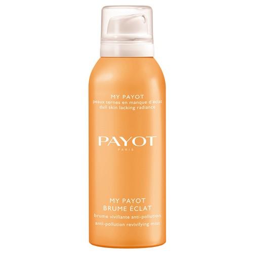 Payot My Payot Спрей-дымка для сияния кожи 125 млPayot<br>Спрей моментально дарит коже ощущение свежести и хорошего самочувствия, увлажняет, возвращает сияние и защищает кожу от внешних загрязнений благодаря сочетанию активных компонентов.<br>Способ применения:<br>Спрей можно наносить как на очищенную кожу, так и на макияж по необходимости в течение всего дня. Распылите средство на лицо, удерживая диспенсер на расстоянии 20 см от лица.<br>Состав:<br>AQUA (WATER), GLYCERIN, BUTYLENE GLYCOL, PHENOXYETHANOL, PEG-40 HYDROGENATED CASTOR OIL, CHLORPHENESIN, PROPANEDIOL, PARFUM (FRAGRANCE), NITROGEN, SODIUM HYALURONATE, EUTERPE OLERACEA FRUIT EXTRACT, LYCIUM BARBARUM FRUIT EXTRACT, CHRYSANTHELLUM INDICUM EXTRACT, ALTEROMONAS FERMENT EXTRACT, POTASSIUM SORBATE, SODIUM BENZOATE<br><br>Вес г: 195<br>Бренд : Payot<br>Объем мл: 125<br>Тип кожи : все типы кожи<br>Возраст : 16+<br>Вид средства для демакияжа : лосьон<br>Страна производитель : Франция