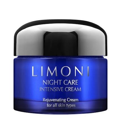 Limoni Night care intensive cream Крем для лица ночной восстанавливающая 50 млУход для лица<br>Крем разработан специально для использования на ночь, когда ваша кожа наиболее восприимчива к активным компонентам. Крем глубоко проникает в кожу, подтягивает контур, разглаживает морщины.В составе содержится комплекс активных компонентов, в том числе витамин В3, который выравнивает тон и осветляет пигментные пятна, гиалуроновая кислота, которая обладает увлажняющими свойствами. Уникальная текстура ночного крема для лица тает на коже и создаёт ощущение комфорта. Утром кожа выглядит свежей, сияющей и отдохнувшей.Тип кожи: для всех типов кожиВозраст: 30+<br><br>Вес г: 70<br>Бренд : Limoni<br>Тип кожи : все типы кожи<br>Консистенция : крем<br>Тип крема : увлажняющий, питательный, антивозрастной, восстанавливающий<br>Возраст : 30+<br>Эффект : лифтинг-эффект, сияние, моделирует контур лица, эластичность, сокращает морщины<br>По времени суток : ночной уход