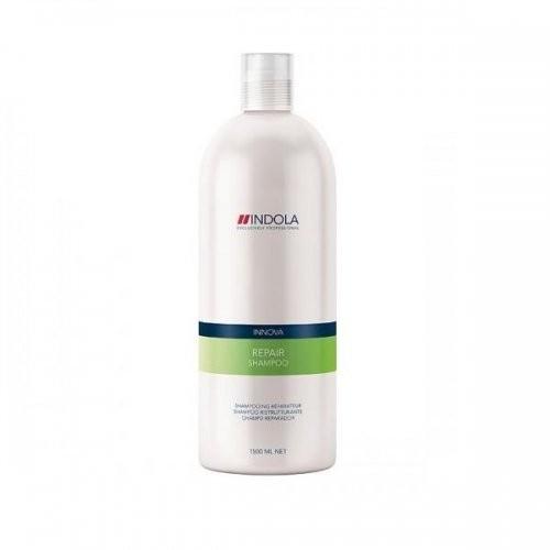 Indola CARE REPAIR Шампунь восстанавливающий для волос 300млIndola<br>Шампунь восстанавливающий Indola Innova repair shampoo – это специально разработанное средство для мягкого и бережного очищения поврежденных волос. Во время применения, он не только удаляет загрязнения с волос, но и питает их, восстанавливая от корней до самых кончиков. Высокая эффективность шампуня Indola Innova repair shampoo основана на сбалансированном составе, включающем необходимые для восстановления и здоровья волос компоненты.<br><br>Вес г: 350<br>Бренд: Indola<br>Объем мл: 300
