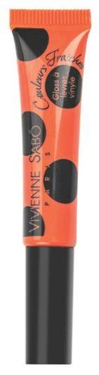 Vivienne Sabo лаковый блеск для губ Vinyl Lipgloss (№12 ярко-коралловый)Vivienne Sabo<br>Необыкновенно свежие и самые модные оттенки – это лаковый блеск для губ Vivienne Sabo из коллекции Vinyl! Формула обогащена компонентами, восстанавливающими упругость губ. Аппетитная капля с ароматом ягод при помощи тонкой кисточки прекрасно распределяется по поверхности губ и придаёт им соблазнительный глянцевый блеск.  Способ применения: нанесите необходимое количество блеска на губы и равномерно распределите. Наносите блеск от центра к краям, чтобы избежать излишне плотного слоя в уголках. Для максимального эффекта нанесите двойной слой в центре.<br><br>Вес г: 10<br>Оттенок блеска : 15 мат.карамельный<br>Бренд : Vivienne Sabo<br>Форма блеска : тюбик<br>Вид блеска : глянцевый<br>Объем мл: 8<br>Страна производитель : Швейцария