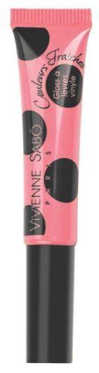 Vivienne Sabo лаковый блеск для губ Vinyl Lipgloss (№13 розовый натуральный)Vivienne Sabo<br>Необыкновенно свежие и самые модные оттенки – это лаковый блеск для губ Vivienne Sabo из коллекции Vinyl! Формула обогащена компонентами, восстанавливающими упругость губ. Аппетитная капля с ароматом ягод при помощи тонкой кисточки прекрасно распределяется по поверхности губ и придаёт им соблазнительный глянцевый блеск.  Способ применения: нанесите необходимое количество блеска на губы и равномерно распределите. Наносите блеск от центра к краям, чтобы избежать излишне плотного слоя в уголках. Для максимального эффекта нанесите двойной слой в центре.<br><br>Вес г: 10<br>Бренд: Vivienne Sabo<br>Форма блеска: тюбик<br>Вид блеска: прозрачный<br>Объем мл: 8<br>Страна производитель: Швейцария