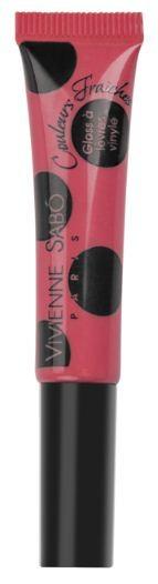 Vivienne Sabo лаковый блеск для губ Vinyl Lipgloss (№14 ярко-розовый)Vivienne Sabo<br>Необыкновенно свежие и самые модные оттенки – это лаковый блеск для губ Vivienne Sabo из коллекции Vinyl! Формула обогащена компонентами, восстанавливающими упругость губ. Аппетитная капля с ароматом ягод при помощи тонкой кисточки прекрасно распределяется по поверхности губ и придаёт им соблазнительный глянцевый блеск.  Способ применения: нанесите необходимое количество блеска на губы и равномерно распределите. Наносите блеск от центра к краям, чтобы избежать излишне плотного слоя в уголках. Для максимального эффекта нанесите двойной слой в центре.<br><br>Вес г: 10<br>Оттенок блеска : 15 мат.карамельный<br>Бренд : Vivienne Sabo<br>Форма блеска : тюбик<br>Вид блеска : глянцевый<br>Объем мл: 8<br>Страна производитель : Швейцария