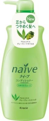 KANEBO NAIVE Бальзам ополаскиватель для нормальных волос с экстрактом алоэ и виноградаKANEBO<br>Этот чудесный бальзам наилучшим образом позаботится о ваших волосах. Средство от японского бренда бережно излечит каждый локон, избавив его от сухости, ломкости и других повреждений. Описываемый продукт пропитает волосы целебным экстрактом алоэ вера, который придаст им силы и сделает послушными, а также маслом виноградных косточек. <br>Описанный выше бальзам-ополаскиватель от Kanebo - это ваша возможность обрести прекрасные, сильные и прочные локоны и больше никогда не вспоминать о ломкости, сухости и других недугах волос.<br><br>Вес г: 590<br>Бренд: Kanebo<br>Объем мл: 550<br>Тип волос: нормальные, поврежденные<br>Действие: питание, восстановление<br>Тип средства для волос: бальзам<br>Страна производитель: Япония