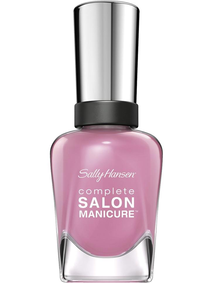 Sally Hansen Salon Manicure Keratin Лак для ногтей (375 лиловый)Sally Hansen<br>Руководство по выбору:<br>Выбирайте оттенок исходя из настроения, повода и типа внешности.Способ применения:<br>Наносить на очищенные от лака сухие ногти<br>Описание:<br>Комплекс Complete Salon Manicure сочетает семь эффектов в одном флаконе, плюс кисточку для безукоризненного покрытия, легкого нанесения и салонных результатов. Эта формула всё-в-одном обеспечивает до 10 дней устойчивого к сколам покрытия и включает основу, средство для роста, вдохновленный подиумом цвет, топ, финишное покрытие с гелевым сиянием, устойчивость к сколам и укрепляющее средство с кератиновым комплексом, делающим ногти до 64% сильнее. Это всё, что вам нужно, чтобы достичь профессиональных результатов при окрашивании ногтей на дому!<br>Состав:<br>BUTYL ACETATE , ETHYL ACETATE , NITROCELLULOSE , ACETYL TRISUTYL CITRATE , TOSYLAMIDE\EPOXY RESIN , ISOPROPYL ALCOHOL . STYRENE\ACRYLATES COPOLYMER , STEARALKONIUM BENTONITE , TRIPHENYL PHOSPHATE, ADIPIC ACID\NEOPENTYL GLYCOL\TRIMELLTICANHYDRIDE EAC COPOLYMER, AQUA\WATER\EAU, SILICA , DIACETONE ALCOHOL, ETOCRYLENE, CALCIUM ALUMINUM BOROSILICATE KAOLIN, CORALLINA OFFICINALIS EXTRACT , POLYVINYL BUTYRAL, PHOSPHORIC ACID, CETYL PEG\PPG – 10\1 DIMETHICONE, TOCOPHERYL ACETATE, NAUTYLALCOHOL, MEK, BENZOPHENONE – 1, TRIMETHYLPENTANEDIYL DIBENZOATE, POLYE THYLENE, HYDROLYZED CONCHIOLIN PROTEIN, CARTHAMUS TINCTORIUS (SAFFLOWER) SEED OIL, MACROCYSTIS PYRIFERA (KELP) EXTRACT , DIMETHICONE, TRIMETHYL SILOXYSILICATE, TINOXIDE<br><br>Вес г: 103<br>Бренд : Sally Hansen<br>Объем мл: 14<br>Вид лака : классичекий<br>Эффект на ногтях : перламутровый<br>Страна производитель : Испания