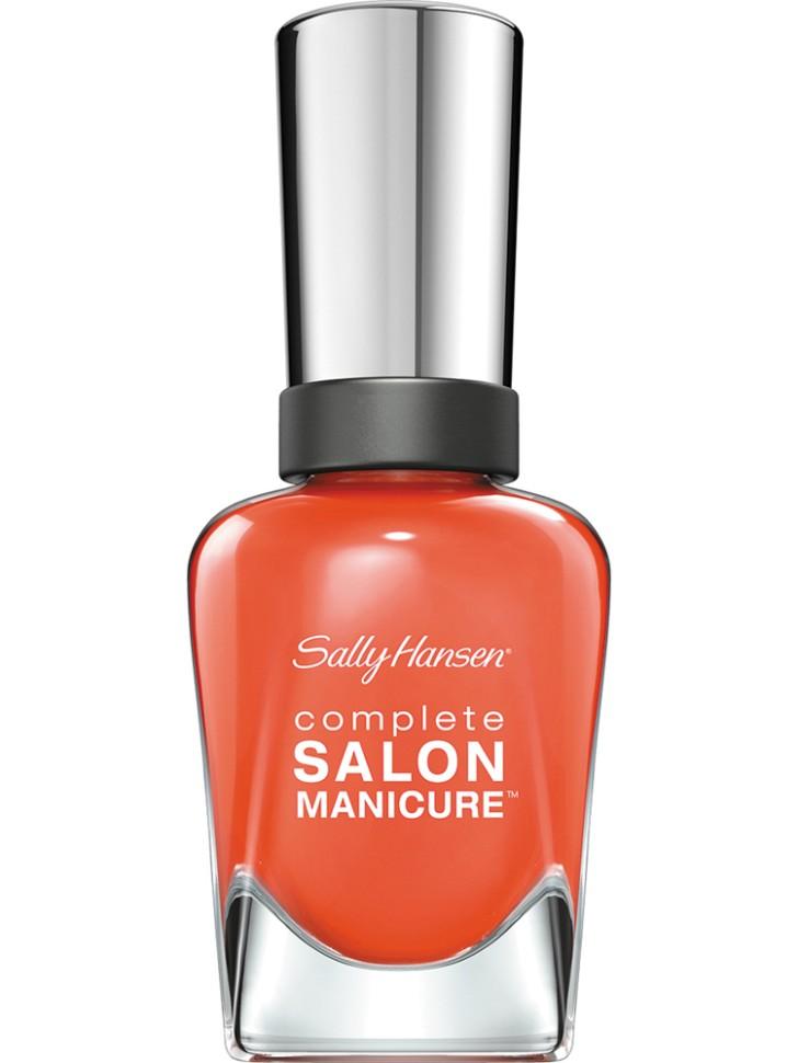 Sally Hansen Salon Manicure Keratin Лак для ногтей (545 оранжевый)Sally Hansen<br>Руководство по выбору:<br>Выбирайте оттенок исходя из настроения, повода и типа внешности.Способ применения:<br>Наносить на очищенные от лака сухие ногти<br>Описание:<br>Комплекс Complete Salon Manicure сочетает семь эффектов в одном флаконе, плюс кисточку для безукоризненного покрытия, легкого нанесения и салонных результатов. Эта формула всё-в-одном обеспечивает до 10 дней устойчивого к сколам покрытия и включает основу, средство для роста, вдохновленный подиумом цвет, топ, финишное покрытие с гелевым сиянием, устойчивость к сколам и укрепляющее средство с кератиновым комплексом, делающим ногти до 64% сильнее. Это всё, что вам нужно, чтобы достичь профессиональных результатов при окрашивании ногтей на дому!<br>Состав:<br>BUTYL ACETATE , ETHYL ACETATE , NITROCELLULOSE , ACETYL TRISUTYL CITRATE , TOSYLAMIDE\EPOXY RESIN , ISOPROPYL ALCOHOL . STYRENE\ACRYLATES COPOLYMER , STEARALKONIUM BENTONITE , TRIPHENYL PHOSPHATE, ADIPIC ACID\NEOPENTYL GLYCOL\TRIMELLTICANHYDRIDE EAC COPOLYMER, AQUA\WATER\EAU, SILICA , DIACETONE ALCOHOL, ETOCRYLENE, CALCIUM ALUMINUM BOROSILICATE KAOLIN, CORALLINA OFFICINALIS EXTRACT , POLYVINYL BUTYRAL, PHOSPHORIC ACID, CETYL PEG\PPG – 10\1 DIMETHICONE, TOCOPHERYL ACETATE, NAUTYLALCOHOL, MEK, BENZOPHENONE – 1, TRIMETHYLPENTANEDIYL DIBENZOATE, POLYE THYLENE, HYDROLYZED CONCHIOLIN PROTEIN, CARTHAMUS TINCTORIUS (SAFFLOWER) SEED OIL, MACROCYSTIS PYRIFERA (KELP) EXTRACT , DIMETHICONE, TRIMETHYL SILOXYSILICATE, TINOXIDE<br><br>Вес г: 103<br>Бренд : Sally Hansen<br>Объем мл: 14<br>Вид лака : классичекий<br>Эффект на ногтях : перламутровый<br>Страна производитель : Испания
