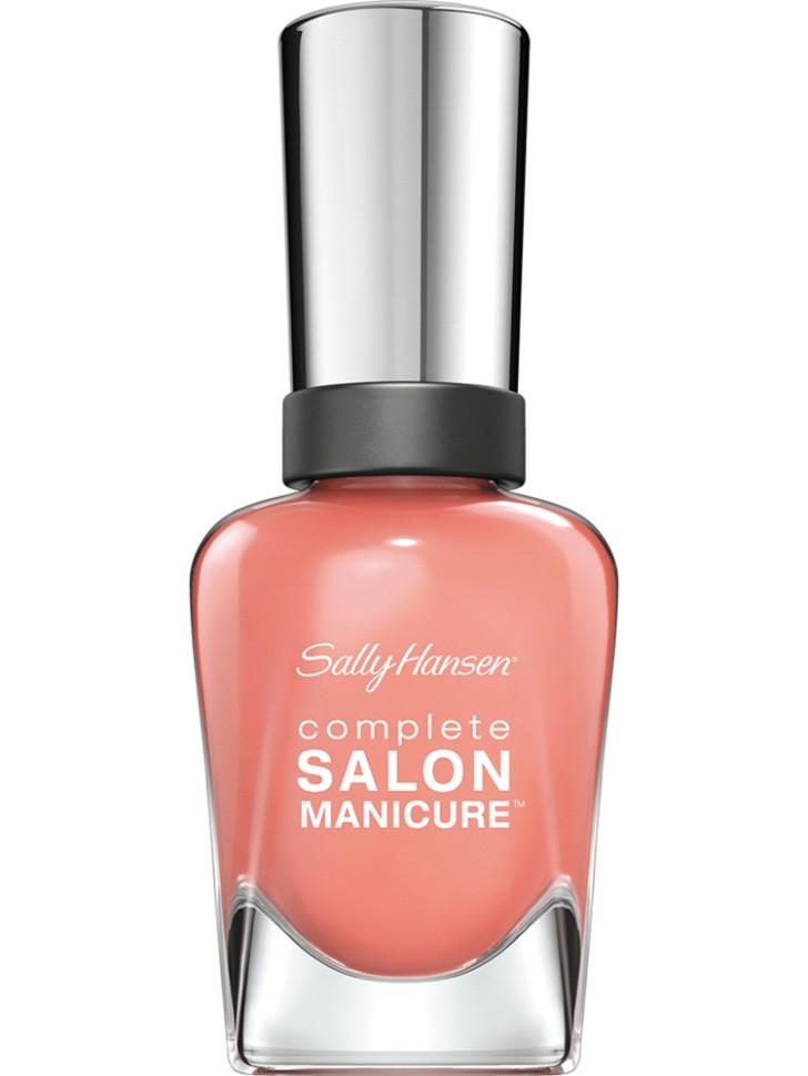 Sally Hansen Salon Manicure Keratin Лак для ногтей (547 бледно-розовый)Sally Hansen<br>Руководство по выбору:<br>Выбирайте оттенок исходя из настроения, повода и типа внешности.Способ применения:<br>Наносить на очищенные от лака сухие ногти<br>Описание:<br>Комплекс Complete Salon Manicure сочетает семь эффектов в одном флаконе, плюс кисточку для безукоризненного покрытия, легкого нанесения и салонных результатов. Эта формула всё-в-одном обеспечивает до 10 дней устойчивого к сколам покрытия и включает основу, средство для роста, вдохновленный подиумом цвет, топ, финишное покрытие с гелевым сиянием, устойчивость к сколам и укрепляющее средство с кератиновым комплексом, делающим ногти до 64% сильнее. Это всё, что вам нужно, чтобы достичь профессиональных результатов при окрашивании ногтей на дому!<br>Состав:<br>BUTYL ACETATE , ETHYL ACETATE , NITROCELLULOSE , ACETYL TRISUTYL CITRATE , TOSYLAMIDE\EPOXY RESIN , ISOPROPYL ALCOHOL . STYRENE\ACRYLATES COPOLYMER , STEARALKONIUM BENTONITE , TRIPHENYL PHOSPHATE, ADIPIC ACID\NEOPENTYL GLYCOL\TRIMELLTICANHYDRIDE EAC COPOLYMER, AQUA\WATER\EAU, SILICA , DIACETONE ALCOHOL, ETOCRYLENE, CALCIUM ALUMINUM BOROSILICATE KAOLIN, CORALLINA OFFICINALIS EXTRACT , POLYVINYL BUTYRAL, PHOSPHORIC ACID, CETYL PEG\PPG – 10\1 DIMETHICONE, TOCOPHERYL ACETATE, NAUTYLALCOHOL, MEK, BENZOPHENONE – 1, TRIMETHYLPENTANEDIYL DIBENZOATE, POLYE THYLENE, HYDROLYZED CONCHIOLIN PROTEIN, CARTHAMUS TINCTORIUS (SAFFLOWER) SEED OIL, MACROCYSTIS PYRIFERA (KELP) EXTRACT , DIMETHICONE, TRIMETHYL SILOXYSILICATE, TINOXIDE<br><br>Вес г: 103<br>Бренд : Sally Hansen<br>Объем мл: 14<br>Вид лака : классичекий<br>Эффект на ногтях : перламутровый<br>Страна производитель : Испания