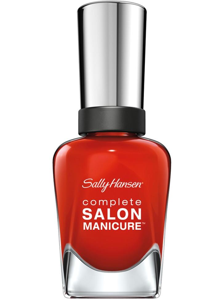 Sally Hansen Salon Manicure Keratin Лак для ногтей (554 рыжий)Sally Hansen<br>Руководство по выбору:<br>Выбирайте оттенок исходя из настроения, повода и типа внешности.Способ применения:<br>Наносить на очищенные от лака сухие ногти<br>Описание:<br>Комплекс Complete Salon Manicure сочетает семь эффектов в одном флаконе, плюс кисточку для безукоризненного покрытия, легкого нанесения и салонных результатов. Эта формула всё-в-одном обеспечивает до 10 дней устойчивого к сколам покрытия и включает основу, средство для роста, вдохновленный подиумом цвет, топ, финишное покрытие с гелевым сиянием, устойчивость к сколам и укрепляющее средство с кератиновым комплексом, делающим ногти до 64% сильнее. Это всё, что вам нужно, чтобы достичь профессиональных результатов при окрашивании ногтей на дому!<br>Состав:<br>BUTYL ACETATE , ETHYL ACETATE , NITROCELLULOSE , ACETYL TRISUTYL CITRATE , TOSYLAMIDE\EPOXY RESIN , ISOPROPYL ALCOHOL . STYRENE\ACRYLATES COPOLYMER , STEARALKONIUM BENTONITE , TRIPHENYL PHOSPHATE, ADIPIC ACID\NEOPENTYL GLYCOL\TRIMELLTICANHYDRIDE EAC COPOLYMER, AQUA\WATER\EAU, SILICA , DIACETONE ALCOHOL, ETOCRYLENE, CALCIUM ALUMINUM BOROSILICATE KAOLIN, CORALLINA OFFICINALIS EXTRACT , POLYVINYL BUTYRAL, PHOSPHORIC ACID, CETYL PEG\PPG – 10\1 DIMETHICONE, TOCOPHERYL ACETATE, NAUTYLALCOHOL, MEK, BENZOPHENONE – 1, TRIMETHYLPENTANEDIYL DIBENZOATE, POLYE THYLENE, HYDROLYZED CONCHIOLIN PROTEIN, CARTHAMUS TINCTORIUS (SAFFLOWER) SEED OIL, MACROCYSTIS PYRIFERA (KELP) EXTRACT , DIMETHICONE, TRIMETHYL SILOXYSILICATE, TINOXIDE<br><br>Вес г: 103<br>Бренд : Sally Hansen<br>Объем мл: 14<br>Вид лака : классичекий<br>Эффект на ногтях : перламутровый<br>Страна производитель : Испания