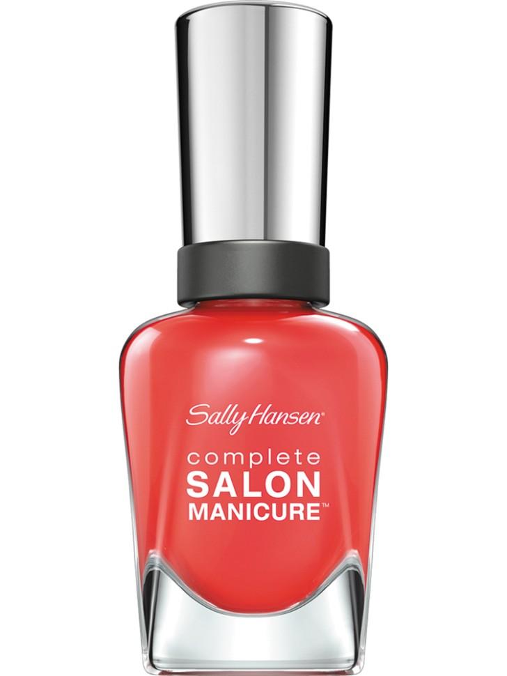 Sally Hansen Salon Manicure Keratin Лак для ногтей (560 коралловый)Sally Hansen<br>Руководство по выбору:<br>Выбирайте оттенок исходя из настроения, повода и типа внешности.Способ применения:<br>Наносить на очищенные от лака сухие ногти<br>Описание:<br>Комплекс Complete Salon Manicure сочетает семь эффектов в одном флаконе, плюс кисточку для безукоризненного покрытия, легкого нанесения и салонных результатов. Эта формула всё-в-одном обеспечивает до 10 дней устойчивого к сколам покрытия и включает основу, средство для роста, вдохновленный подиумом цвет, топ, финишное покрытие с гелевым сиянием, устойчивость к сколам и укрепляющее средство с кератиновым комплексом, делающим ногти до 64% сильнее. Это всё, что вам нужно, чтобы достичь профессиональных результатов при окрашивании ногтей на дому!<br>Состав:<br>BUTYL ACETATE , ETHYL ACETATE , NITROCELLULOSE , ACETYL TRISUTYL CITRATE , TOSYLAMIDE\EPOXY RESIN , ISOPROPYL ALCOHOL . STYRENE\ACRYLATES COPOLYMER , STEARALKONIUM BENTONITE , TRIPHENYL PHOSPHATE, ADIPIC ACID\NEOPENTYL GLYCOL\TRIMELLTICANHYDRIDE EAC COPOLYMER, AQUA\WATER\EAU, SILICA , DIACETONE ALCOHOL, ETOCRYLENE, CALCIUM ALUMINUM BOROSILICATE KAOLIN, CORALLINA OFFICINALIS EXTRACT , POLYVINYL BUTYRAL, PHOSPHORIC ACID, CETYL PEG\PPG – 10\1 DIMETHICONE, TOCOPHERYL ACETATE, NAUTYLALCOHOL, MEK, BENZOPHENONE – 1, TRIMETHYLPENTANEDIYL DIBENZOATE, POLYE THYLENE, HYDROLYZED CONCHIOLIN PROTEIN, CARTHAMUS TINCTORIUS (SAFFLOWER) SEED OIL, MACROCYSTIS PYRIFERA (KELP) EXTRACT , DIMETHICONE, TRIMETHYL SILOXYSILICATE, TINOXIDE<br><br>Вес г: 103<br>Бренд : Sally Hansen<br>Объем мл: 14<br>Вид лака : классичекий<br>Эффект на ногтях : перламутровый<br>Страна производитель : Испания