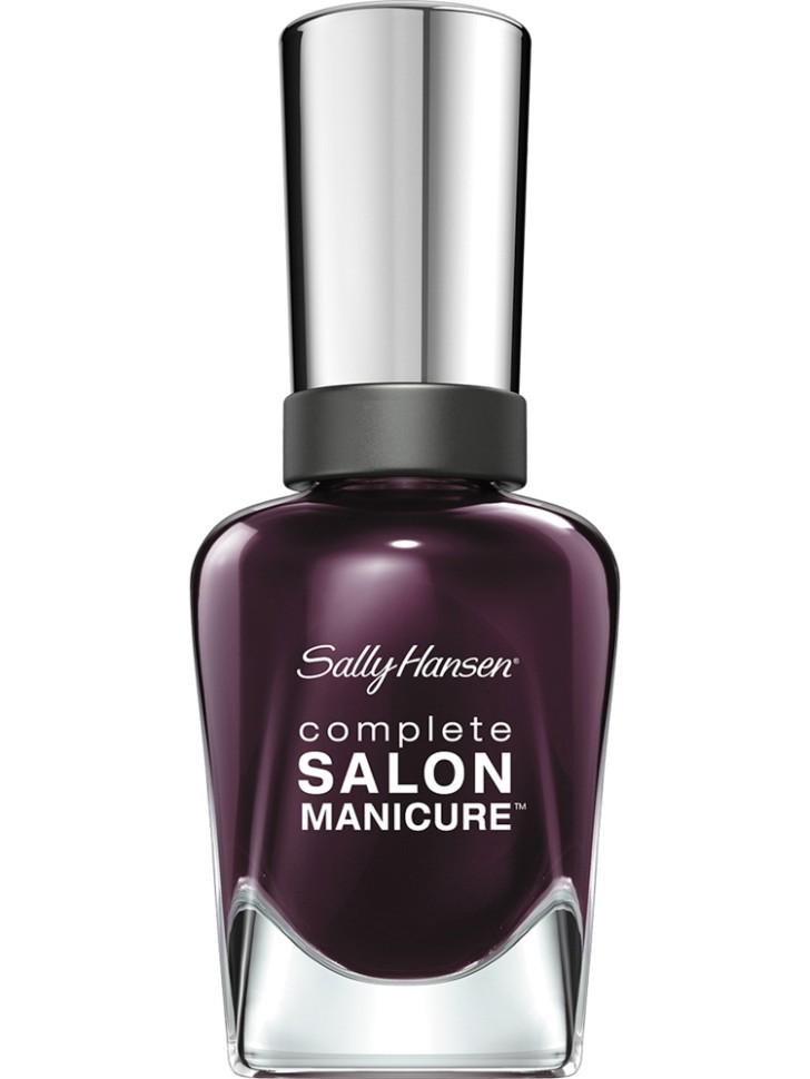 Sally Hansen Salon Manicure Keratin Лак для ногтей (660 сливовый)Sally Hansen<br>Руководство по выбору:<br>Выбирайте оттенок исходя из настроения, повода и типа внешности.Способ применения:<br>Наносить на очищенные от лака сухие ногти<br>Описание:<br>Комплекс Complete Salon Manicure сочетает семь эффектов в одном флаконе, плюс кисточку для безукоризненного покрытия, легкого нанесения и салонных результатов. Эта формула всё-в-одном обеспечивает до 10 дней устойчивого к сколам покрытия и включает основу, средство для роста, вдохновленный подиумом цвет, топ, финишное покрытие с гелевым сиянием, устойчивость к сколам и укрепляющее средство с кератиновым комплексом, делающим ногти до 64% сильнее. Это всё, что вам нужно, чтобы достичь профессиональных результатов при окрашивании ногтей на дому!<br>Состав:<br>BUTYL ACETATE , ETHYL ACETATE , NITROCELLULOSE , ACETYL TRISUTYL CITRATE , TOSYLAMIDE\EPOXY RESIN , ISOPROPYL ALCOHOL . STYRENE\ACRYLATES COPOLYMER , STEARALKONIUM BENTONITE , TRIPHENYL PHOSPHATE, ADIPIC ACID\NEOPENTYL GLYCOL\TRIMELLTICANHYDRIDE EAC COPOLYMER, AQUA\WATER\EAU, SILICA , DIACETONE ALCOHOL, ETOCRYLENE, CALCIUM ALUMINUM BOROSILICATE KAOLIN, CORALLINA OFFICINALIS EXTRACT , POLYVINYL BUTYRAL, PHOSPHORIC ACID, CETYL PEG\PPG – 10\1 DIMETHICONE, TOCOPHERYL ACETATE, NAUTYLALCOHOL, MEK, BENZOPHENONE – 1, TRIMETHYLPENTANEDIYL DIBENZOATE, POLYE THYLENE, HYDROLYZED CONCHIOLIN PROTEIN, CARTHAMUS TINCTORIUS (SAFFLOWER) SEED OIL, MACROCYSTIS PYRIFERA (KELP) EXTRACT , DIMETHICONE, TRIMETHYL SILOXYSILICATE, TINOXIDE<br><br>Вес г: 103<br>Бренд : Sally Hansen<br>Объем мл: 14<br>Вид лака : классичекий<br>Эффект на ногтях : перламутровый<br>Страна производитель : Испания