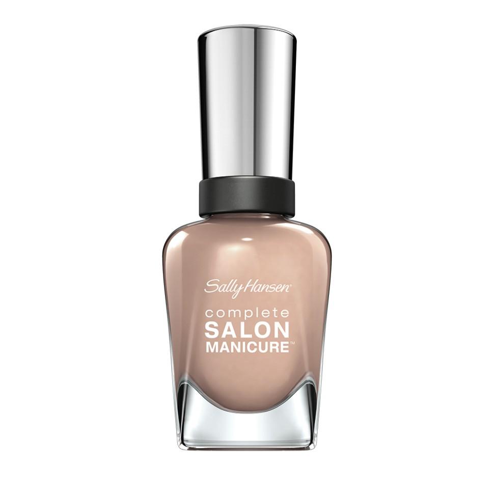 Sally Hansen Salon Manicure Keratin Лак для ногтей (Nude Awake бежевый)Sally Hansen<br>Руководство по выбору:<br>Выбирайте оттенок исходя из настроения, повода и типа внешности.Способ применения:<br>Наносить на очищенные от лака сухие ногти<br>Описание:<br>Комплекс Complete Salon Manicure сочетает семь эффектов в одном флаконе, плюс кисточку для безукоризненного покрытия, легкого нанесения и салонных результатов. Эта формула всё-в-одном обеспечивает до 10 дней устойчивого к сколам покрытия и включает основу, средство для роста, вдохновленный подиумом цвет, топ, финишное покрытие с гелевым сиянием, устойчивость к сколам и укрепляющее средство с кератиновым комплексом, делающим ногти до 64% сильнее. Это всё, что вам нужно, чтобы достичь профессиональных результатов при окрашивании ногтей на дому!<br>Состав:<br>BUTYL ACETATE , ETHYL ACETATE , NITROCELLULOSE , ACETYL TRISUTYL CITRATE , TOSYLAMIDE\EPOXY RESIN , ISOPROPYL ALCOHOL . STYRENE\ACRYLATES COPOLYMER , STEARALKONIUM BENTONITE , TRIPHENYL PHOSPHATE, ADIPIC ACID\NEOPENTYL GLYCOL\TRIMELLTICANHYDRIDE EAC COPOLYMER, AQUA\WATER\EAU, SILICA , DIACETONE ALCOHOL, ETOCRYLENE, CALCIUM ALUMINUM BOROSILICATE KAOLIN, CORALLINA OFFICINALIS EXTRACT , POLYVINYL BUTYRAL, PHOSPHORIC ACID, CETYL PEG\PPG – 10\1 DIMETHICONE, TOCOPHERYL ACETATE, NAUTYLALCOHOL, MEK, BENZOPHENONE – 1, TRIMETHYLPENTANEDIYL DIBENZOATE, POLYE THYLENE, HYDROLYZED CONCHIOLIN PROTEIN, CARTHAMUS TINCTORIUS (SAFFLOWER) SEED OIL, MACROCYSTIS PYRIFERA (KELP) EXTRACT , DIMETHICONE, TRIMETHYL SILOXYSILICATE, TINOXIDE<br><br>Вес г: 103<br>Бренд : Sally Hansen<br>Объем мл: 14<br>Вид лака : классичекий<br>Эффект на ногтях : перламутровый<br>Страна производитель : Испания