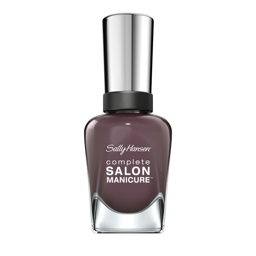 Sally Hansen Salon Manicure Keratin Лак для ногтей (Talk is Ch коричневый)Sally Hansen<br>Руководство по выбору:<br>Выбирайте оттенок исходя из настроения, повода и типа внешности.Способ применения:<br>Наносить на очищенные от лака сухие ногти<br>Описание:<br>Комплекс Complete Salon Manicure сочетает семь эффектов в одном флаконе, плюс кисточку для безукоризненного покрытия, легкого нанесения и салонных результатов. Эта формула всё-в-одном обеспечивает до 10 дней устойчивого к сколам покрытия и включает основу, средство для роста, вдохновленный подиумом цвет, топ, финишное покрытие с гелевым сиянием, устойчивость к сколам и укрепляющее средство с кератиновым комплексом, делающим ногти до 64% сильнее. Это всё, что вам нужно, чтобы достичь профессиональных результатов при окрашивании ногтей на дому!<br>Состав:<br>BUTYL ACETATE , ETHYL ACETATE , NITROCELLULOSE , ACETYL TRISUTYL CITRATE , TOSYLAMIDE\EPOXY RESIN , ISOPROPYL ALCOHOL . STYRENE\ACRYLATES COPOLYMER , STEARALKONIUM BENTONITE , TRIPHENYL PHOSPHATE, ADIPIC ACID\NEOPENTYL GLYCOL\TRIMELLTICANHYDRIDE EAC COPOLYMER, AQUA\WATER\EAU, SILICA , DIACETONE ALCOHOL, ETOCRYLENE, CALCIUM ALUMINUM BOROSILICATE KAOLIN, CORALLINA OFFICINALIS EXTRACT , POLYVINYL BUTYRAL, PHOSPHORIC ACID, CETYL PEG\PPG – 10\1 DIMETHICONE, TOCOPHERYL ACETATE, NAUTYLALCOHOL, MEK, BENZOPHENONE – 1, TRIMETHYLPENTANEDIYL DIBENZOATE, POLYE THYLENE, HYDROLYZED CONCHIOLIN PROTEIN, CARTHAMUS TINCTORIUS (SAFFLOWER) SEED OIL, MACROCYSTIS PYRIFERA (KELP) EXTRACT , DIMETHICONE, TRIMETHYL SILOXYSILICATE, TINOXIDE<br><br>Вес г: 103<br>Бренд : Sally Hansen<br>Объем мл: 14<br>Вид лака : классичекий<br>Эффект на ногтях : перламутровый<br>Страна производитель : Испания
