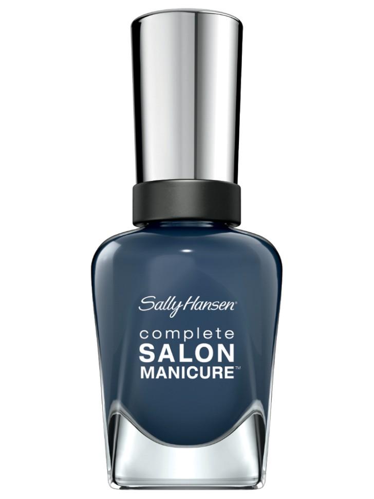 Sally Hansen Salon Manicure Keratin Лак для ногтей (Tropic Thu темно-синий)Sally Hansen<br>Руководство по выбору:<br>Выбирайте оттенок исходя из настроения, повода и типа внешности.Способ применения:<br>Наносить на очищенные от лака сухие ногти<br>Описание:<br>Комплекс Complete Salon Manicure сочетает семь эффектов в одном флаконе, плюс кисточку для безукоризненного покрытия, легкого нанесения и салонных результатов. Эта формула всё-в-одном обеспечивает до 10 дней устойчивого к сколам покрытия и включает основу, средство для роста, вдохновленный подиумом цвет, топ, финишное покрытие с гелевым сиянием, устойчивость к сколам и укрепляющее средство с кератиновым комплексом, делающим ногти до 64% сильнее. Это всё, что вам нужно, чтобы достичь профессиональных результатов при окрашивании ногтей на дому!<br>Состав:<br>BUTYL ACETATE , ETHYL ACETATE , NITROCELLULOSE , ACETYL TRISUTYL CITRATE , TOSYLAMIDE\EPOXY RESIN , ISOPROPYL ALCOHOL . STYRENE\ACRYLATES COPOLYMER , STEARALKONIUM BENTONITE , TRIPHENYL PHOSPHATE, ADIPIC ACID\NEOPENTYL GLYCOL\TRIMELLTICANHYDRIDE EAC COPOLYMER, AQUA\WATER\EAU, SILICA , DIACETONE ALCOHOL, ETOCRYLENE, CALCIUM ALUMINUM BOROSILICATE KAOLIN, CORALLINA OFFICINALIS EXTRACT , POLYVINYL BUTYRAL, PHOSPHORIC ACID, CETYL PEG\PPG – 10\1 DIMETHICONE, TOCOPHERYL ACETATE, NAUTYLALCOHOL, MEK, BENZOPHENONE – 1, TRIMETHYLPENTANEDIYL DIBENZOATE, POLYE THYLENE, HYDROLYZED CONCHIOLIN PROTEIN, CARTHAMUS TINCTORIUS (SAFFLOWER) SEED OIL, MACROCYSTIS PYRIFERA (KELP) EXTRACT , DIMETHICONE, TRIMETHYL SILOXYSILICATE, TINOXIDE<br><br>Вес г: 103<br>Бренд : Sally Hansen<br>Объем мл: 14<br>Вид лака : классичекий<br>Эффект на ногтях : перламутровый<br>Страна производитель : Испания