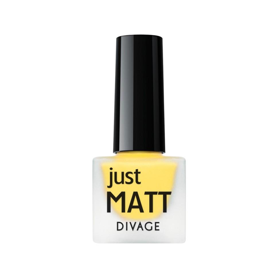 Divage Лак для ногтей Just Matt (5623 желтый)Divage<br>Легкая мягкая текстура лака позволяет выполнить маникюр с эффектом матового покрытия. Настоящая бархатная фантазия для твоего образа. Лак выравнивает неровности ногтевой пластины и позволяет создать идеальный маникюр с насыщенным цветом в один слой. Коллекция постоянно дополняется и обновляется новыми актуальными цветами. С оттенками коллекции JUST MATT легко воплотить в жизнь различные nail-дизайны, и каждый раз ваш маникюр будет смотреться стильно и по-новому!<br>Мнение эксперта:<br>Как продлить стойкость лака до 5 дней? DIVAGE готов поделиться секретом! Для стойкого и равномерного нанесения используй основу под лак, а для усиления матового эффекта и быстрого высыхания подойдёт топ - покрытие SO MATT от DIVAGE<br>Состав:<br>Бутилацетат, этилацетат, нитроцеллюлоза, изопропиловый спирт, формальдегидная смола, фталевый ангедрид, камфора, бензофенон 1, стеаралкониум. Может содержать: орлюмы - красный, белый, желто-зеленый, глиттеры полимерные, CI 77891, CI 77491, CI 15850, CI 19140, CI 77742, CI77499<br><br>Вес г: 47<br>Бренд : Divage<br>Объем мл: 7<br>Вид лака : классичекий<br>Эффект на ногтях : матовый<br>Страна производитель : Россия