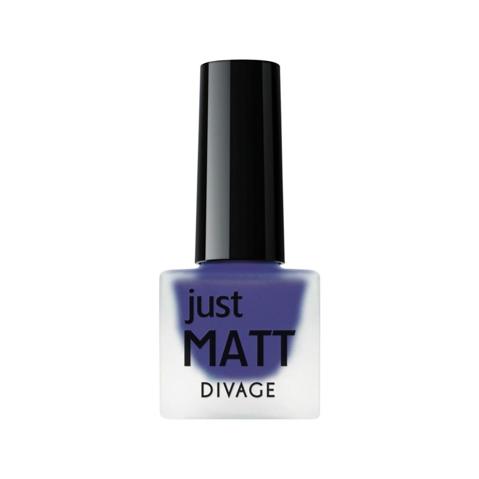 Divage Лак для ногтей Just Matt (5603 сливовый)Divage<br>Легкая мягкая текстура лака позволяет выполнить маникюр с эффектом матового покрытия. Настоящая бархатная фантазия для твоего образа. Лак выравнивает неровности ногтевой пластины и позволяет создать идеальный маникюр с насыщенным цветом в один слой. Коллекция постоянно дополняется и обновляется новыми актуальными цветами. С оттенками коллекции JUST MATT легко воплотить в жизнь различные nail-дизайны, и каждый раз ваш маникюр будет смотреться стильно и по-новому!<br>Мнение эксперта:<br>Как продлить стойкость лака до 5 дней? DIVAGE готов поделиться секретом! Для стойкого и равномерного нанесения используй основу под лак, а для усиления матового эффекта и быстрого высыхания подойдёт топ - покрытие SO MATT от DIVAGE<br>Состав:<br>Бутилацетат, этилацетат, нитроцеллюлоза, изопропиловый спирт, формальдегидная смола, фталевый ангедрид, камфора, бензофенон 1, стеаралкониум. Может содержать: орлюмы - красный, белый, желто-зеленый, глиттеры полимерные, CI 77891, CI 77491, CI 15850, CI 19140, CI 77742, CI77499<br><br>Вес г: 47<br>Бренд : Divage<br>Объем мл: 7<br>Вид лака : классичекий<br>Эффект на ногтях : матовый<br>Страна производитель : Россия