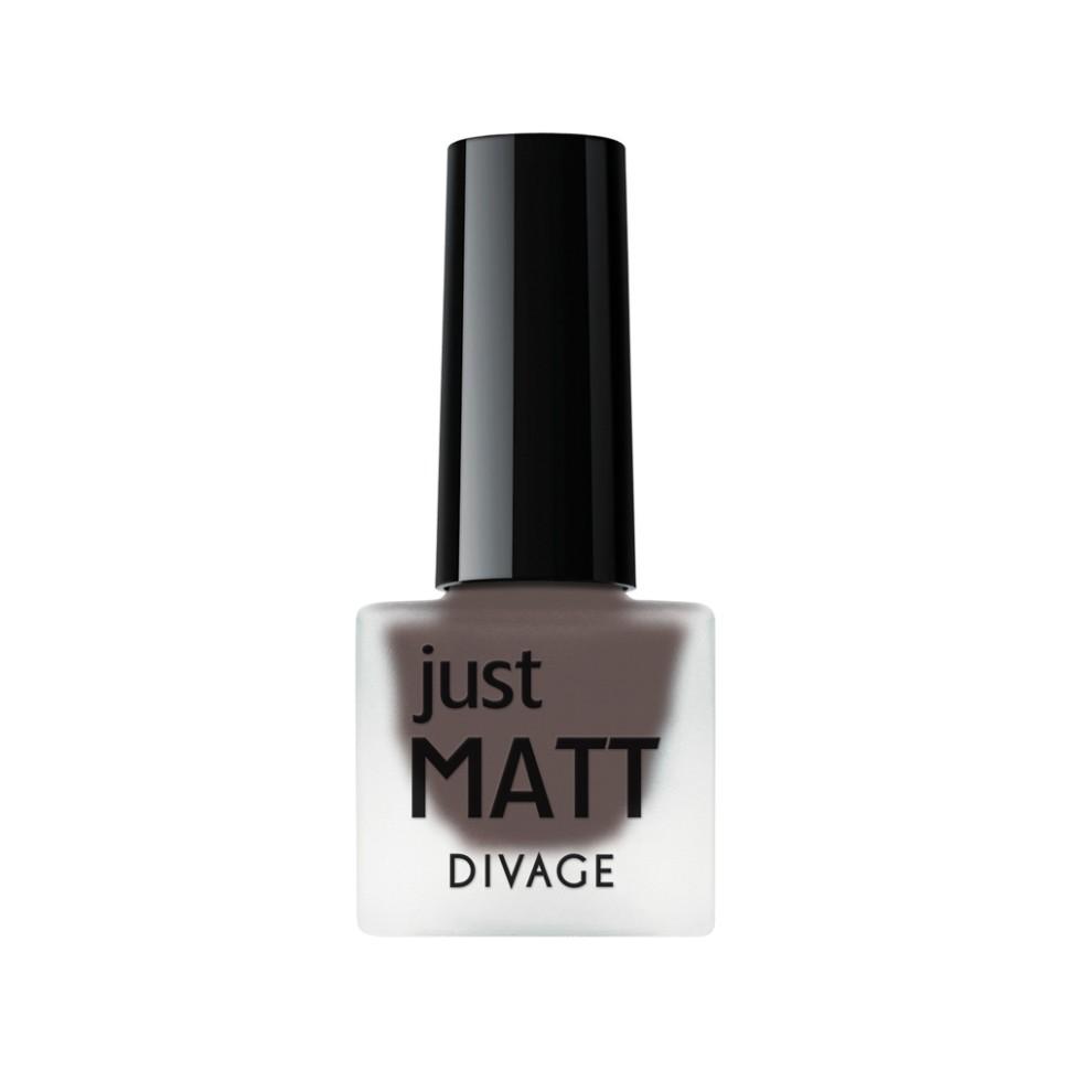 Divage Лак для ногтей Just Matt (5605 черный)Divage<br>Легкая мягкая текстура лака позволяет выполнить маникюр с эффектом матового покрытия. Настоящая бархатная фантазия для твоего образа. Лак выравнивает неровности ногтевой пластины и позволяет создать идеальный маникюр с насыщенным цветом в один слой. Коллекция постоянно дополняется и обновляется новыми актуальными цветами. С оттенками коллекции JUST MATT легко воплотить в жизнь различные nail-дизайны, и каждый раз ваш маникюр будет смотреться стильно и по-новому!<br>Мнение эксперта:<br>Как продлить стойкость лака до 5 дней? DIVAGE готов поделиться секретом! Для стойкого и равномерного нанесения используй основу под лак, а для усиления матового эффекта и быстрого высыхания подойдёт топ - покрытие SO MATT от DIVAGE<br>Состав:<br>Бутилацетат, этилацетат, нитроцеллюлоза, изопропиловый спирт, формальдегидная смола, фталевый ангедрид, камфора, бензофенон 1, стеаралкониум. Может содержать: орлюмы - красный, белый, желто-зеленый, глиттеры полимерные, CI 77891, CI 77491, CI 15850, CI 19140, CI 77742, CI77499<br><br>Вес г: 47<br>Бренд : Divage<br>Объем мл: 7<br>Вид лака : классичекий<br>Эффект на ногтях : матовый<br>Страна производитель : Россия