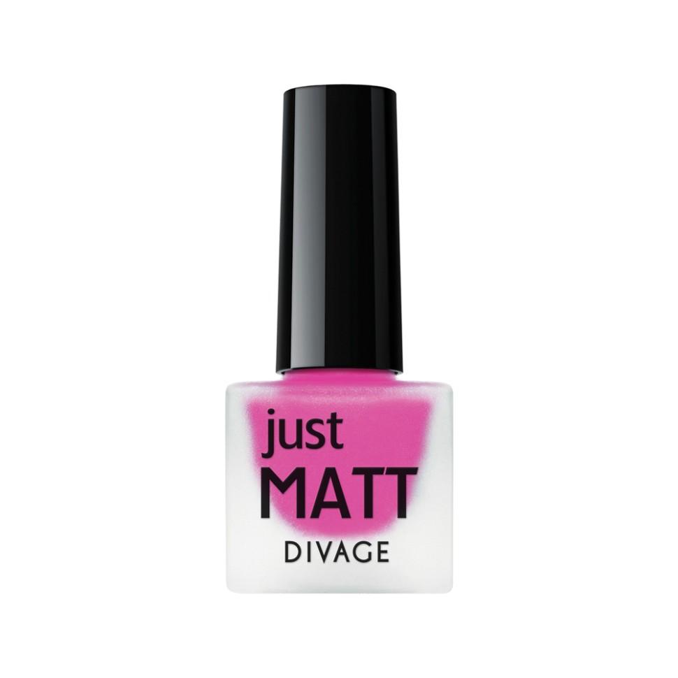 Divage Лак для ногтей Just Matt (5615 фуксия)Divage<br>Легкая мягкая текстура лака позволяет выполнить маникюр с эффектом матового покрытия. Настоящая бархатная фантазия для твоего образа. Лак выравнивает неровности ногтевой пластины и позволяет создать идеальный маникюр с насыщенным цветом в один слой. Коллекция постоянно дополняется и обновляется новыми актуальными цветами. С оттенками коллекции JUST MATT легко воплотить в жизнь различные nail-дизайны, и каждый раз ваш маникюр будет смотреться стильно и по-новому!<br>Мнение эксперта:<br>Как продлить стойкость лака до 5 дней? DIVAGE готов поделиться секретом! Для стойкого и равномерного нанесения используй основу под лак, а для усиления матового эффекта и быстрого высыхания подойдёт топ - покрытие SO MATT от DIVAGE<br>Состав:<br>Бутилацетат, этилацетат, нитроцеллюлоза, изопропиловый спирт, формальдегидная смола, фталевый ангедрид, камфора, бензофенон 1, стеаралкониум. Может содержать: орлюмы - красный, белый, желто-зеленый, глиттеры полимерные, CI 77891, CI 77491, CI 15850, CI 19140, CI 77742, CI77499<br><br>Вес г: 47<br>Бренд : Divage<br>Объем мл: 7<br>Вид лака : классичекий<br>Эффект на ногтях : матовый<br>Страна производитель : Россия