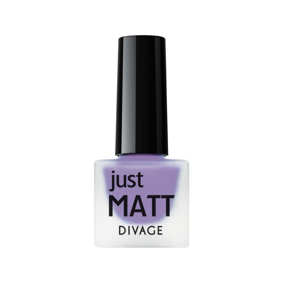 Divage Лак для ногтей Just Matt (5616 фиолетовый)Divage<br>Легкая мягкая текстура лака позволяет выполнить маникюр с эффектом матового покрытия. Настоящая бархатная фантазия для твоего образа. Лак выравнивает неровности ногтевой пластины и позволяет создать идеальный маникюр с насыщенным цветом в один слой. Коллекция постоянно дополняется и обновляется новыми актуальными цветами. С оттенками коллекции JUST MATT легко воплотить в жизнь различные nail-дизайны, и каждый раз ваш маникюр будет смотреться стильно и по-новому!<br>Мнение эксперта:<br>Как продлить стойкость лака до 5 дней? DIVAGE готов поделиться секретом! Для стойкого и равномерного нанесения используй основу под лак, а для усиления матового эффекта и быстрого высыхания подойдёт топ - покрытие SO MATT от DIVAGE<br>Состав:<br>Бутилацетат, этилацетат, нитроцеллюлоза, изопропиловый спирт, формальдегидная смола, фталевый ангедрид, камфора, бензофенон 1, стеаралкониум. Может содержать: орлюмы - красный, белый, желто-зеленый, глиттеры полимерные, CI 77891, CI 77491, CI 15850, CI 19140, CI 77742, CI77499<br><br>Вес г: 47<br>Бренд : Divage<br>Объем мл: 7<br>Вид лака : классичекий<br>Эффект на ногтях : матовый<br>Страна производитель : Россия