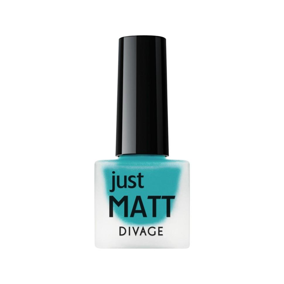 Divage Лак для ногтей Just Matt (5618 голубой)Divage<br>Легкая мягкая текстура лака позволяет выполнить маникюр с эффектом матового покрытия. Настоящая бархатная фантазия для твоего образа. Лак выравнивает неровности ногтевой пластины и позволяет создать идеальный маникюр с насыщенным цветом в один слой. Коллекция постоянно дополняется и обновляется новыми актуальными цветами. С оттенками коллекции JUST MATT легко воплотить в жизнь различные nail-дизайны, и каждый раз ваш маникюр будет смотреться стильно и по-новому!<br>Мнение эксперта:<br>Как продлить стойкость лака до 5 дней? DIVAGE готов поделиться секретом! Для стойкого и равномерного нанесения используй основу под лак, а для усиления матового эффекта и быстрого высыхания подойдёт топ - покрытие SO MATT от DIVAGE<br>Состав:<br>Бутилацетат, этилацетат, нитроцеллюлоза, изопропиловый спирт, формальдегидная смола, фталевый ангедрид, камфора, бензофенон 1, стеаралкониум. Может содержать: орлюмы - красный, белый, желто-зеленый, глиттеры полимерные, CI 77891, CI 77491, CI 15850, CI 19140, CI 77742, CI77499<br><br>Вес г: 47<br>Бренд : Divage<br>Объем мл: 7<br>Вид лака : классичекий<br>Эффект на ногтях : матовый<br>Страна производитель : Россия