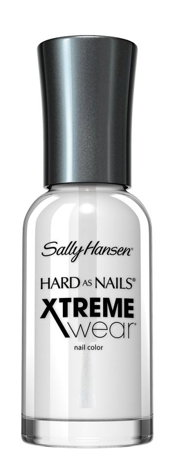 Sally Hansen Xtreme Wear Лак для ногтей (100 прозрачный)Sally Hansen<br>Руководство по выбору:<br>Выбирайте оттенок исходя из настроения, повода и типа внешностиСпособ применения:<br>Наносить на очищенные от лака сухие ногти<br>Описание:<br>Разные оттенки стойкого маникюра! Ингредиенты для прочности ногтей, великолепный  блеск и цвет лака!<br>Состав:<br>Комплекс микро-блеск, титан, кальций<br><br>Вес г: 80<br>Бренд : Sally Hansen<br>Объем мл: 11<br>Вид лака : классичекий<br>Эффект на ногтях : перламутровый<br>Страна производитель : СОЕДИНЕННЫЕ ШТАТЫ АМЕРИКИ