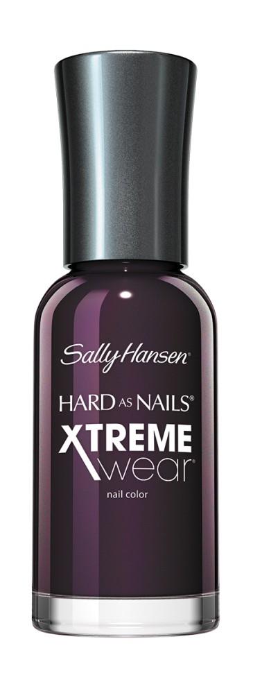 Sally Hansen Xtreme Wear Лак для ногтей (210 темно-фиолетовый)Sally Hansen<br>Руководство по выбору:<br>Выбирайте оттенок исходя из настроения, повода и типа внешностиСпособ применения:<br>Наносить на очищенные от лака сухие ногти<br>Описание:<br>Разные оттенки стойкого маникюра! Ингредиенты для прочности ногтей, великолепный  блеск и цвет лака!<br>Состав:<br>Комплекс микро-блеск, титан, кальций<br><br>Вес г: 80<br>Бренд : Sally Hansen<br>Объем мл: 11<br>Вид лака : классичекий<br>Эффект на ногтях : перламутровый<br>Страна производитель : СОЕДИНЕННЫЕ ШТАТЫ АМЕРИКИ