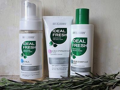 Средства для снятия макияжа Belkosmex Ideal Fresh