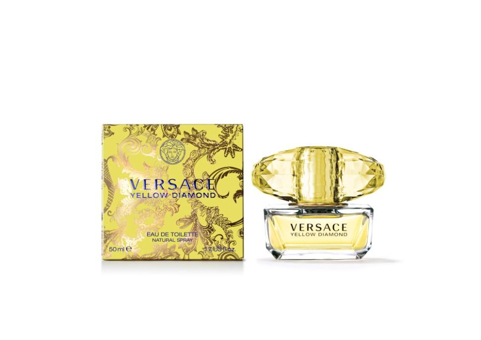 Versace Yellow Diamond Туалетная вода 50 мл (VERSACE)