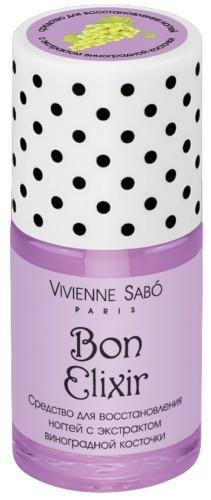 Vivienne Sabo средство для восстановления ногтей с экстрактом виноградной косточки Bon Elixir