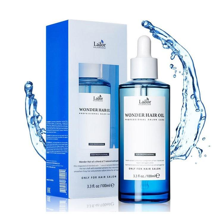 Lador Увлажняющее масло для волос Wonder hair oil 100 мл купить в makeupmarket.ru