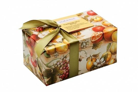 Кафе Красоты набор подарочный Винтаж (соль для ванны+мыло+бурлящий шар+крем для рук)
